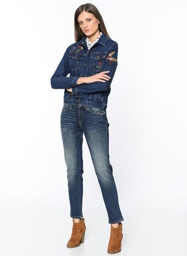 Jean Ceket | Katy - Regular-Mavi